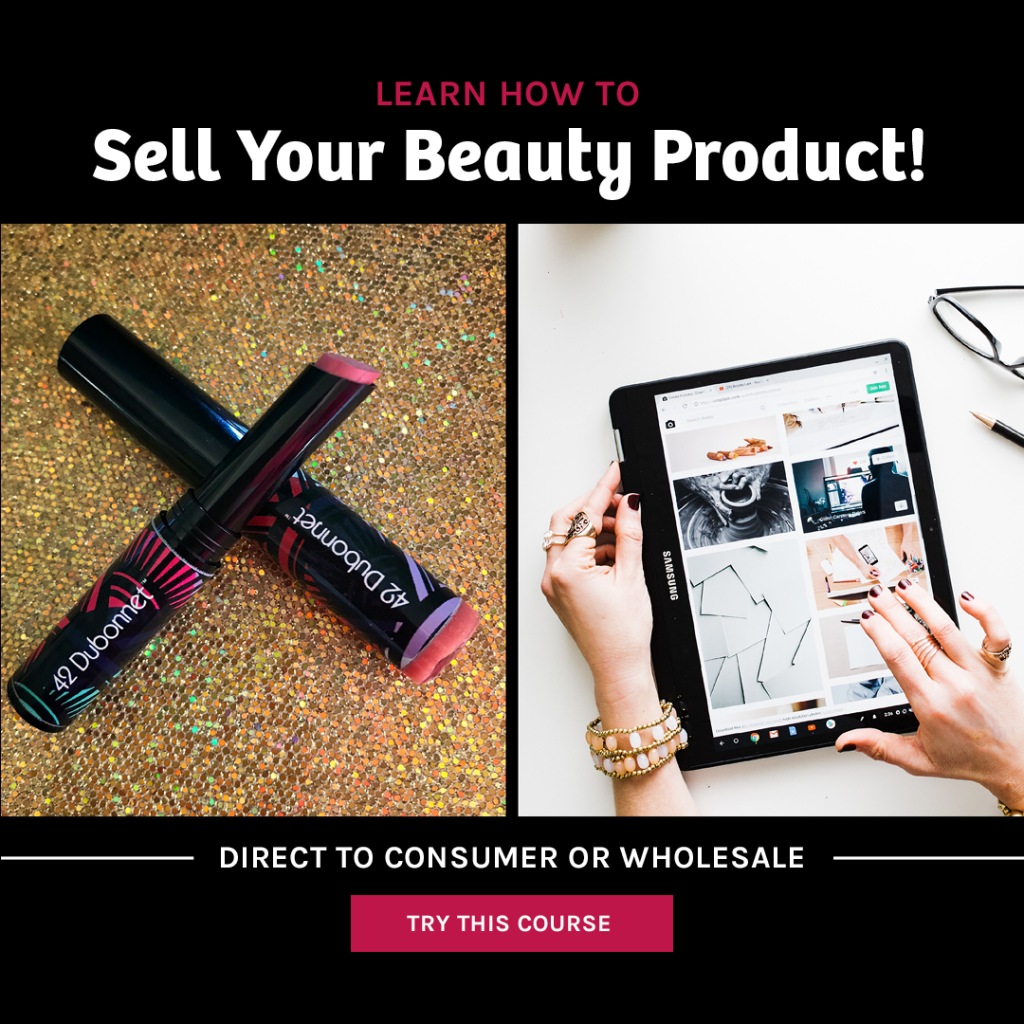 Sell Your Beauty Product